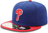 MLB Hat, Philadelphia Phillies On-Field 59FIFTY Fitted Baseball Cap
