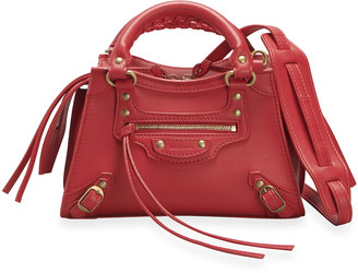 Balenciaga Neo Class City Mini Calfskin Satchel Bag