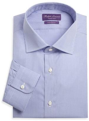 Ralph Lauren Purple Label Aston Gingham Sport Shirt