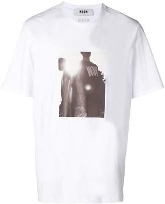 MSGM photo-print T-shirt