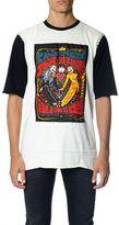 Dolce & Gabbana Oversized Printed Cotton T-shirt