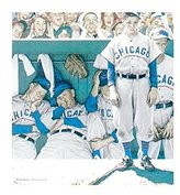Rockwell The Poster Corp Dugout Poster Print by Norman