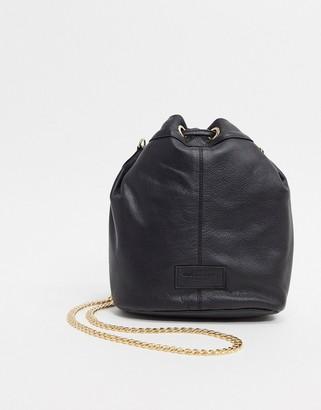 Urban Code Urbancode real leather bucket bag
