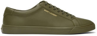 Saint Laurent Green Andy Sneakers