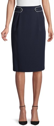 Tommy Hilfiger Pyrn Side-Tab Skirt
