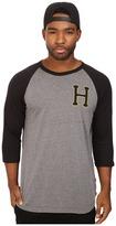 HUF Classic H Regal Raglan Shirt