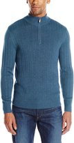 Savane Men's Quarter Zip Rib