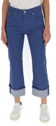Chloé Cropped Straight-Leg Jeans