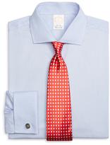 Brooks Brothers Golden Fleece® Regent Fit Textured Alternating Stripe French Cuff Dress Shirt