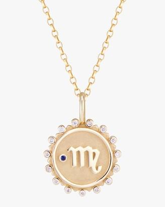 Marlo Laz Zodiac Scorpio Pendant Necklace