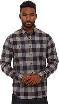 Howe Men's Tahoe Long Sleeve Brush Cotton Button Up Shirt
