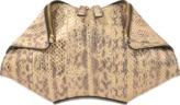 Alexander McQueen De Manta Waternsnake Small Clutch