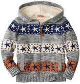 Kids Getting Warmer Sherpa Lined Sweater Hoodie