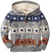 Kids Getting Warmer Sherpa Lined Sweater Hoodie