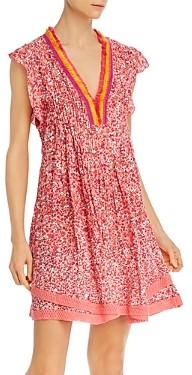 Poupette St Barth Sasha Lace-Trimmed Mini Dress - 100% Exclusive