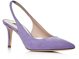 Sarah Jessica Parker Women's Simplicity Slingback Pointed-Toe Pumps