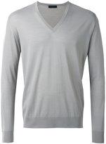 Prada light V-neck sweater