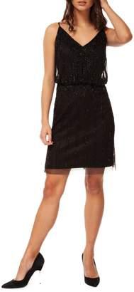 Dex Beaded Blouson Dress