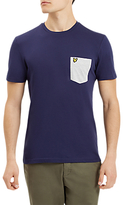 Lyle & Scott Contrast Pocket T-shirt, Navy