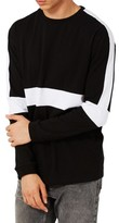 Topman Men's Contrast Panel Oversize T-Shirt