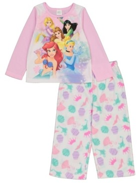 AME Disney Princess Toddler Girl 2 Piece Pajama Set