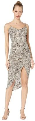 BB Dakota On The Prowl Party Animal Print CDC Dress (Taupe) Women's Dress