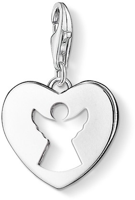 Thomas Sabo Women-Charm Pendant Guardian Angel Charm Club 925 Sterling silver 0869-001-12