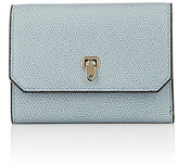 Valextra Women's City Trifold Wallet-LIGHT BLUE