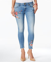 KUT from the Kloth Connie Embroidered Medium Base Wash Skinny Jeans