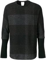 Stephan Schneider oversized check sweater
