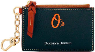 Dooney & Bourke MLB Orioles Zip Top Card Case