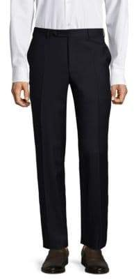Canali Twill Wool Trousers