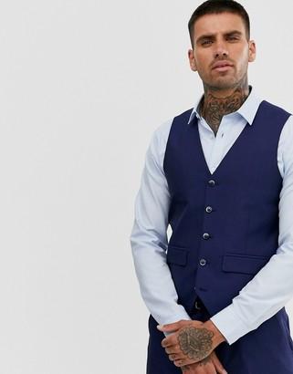 Harry Brown Blue Tonic Suit vest