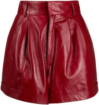 Manokhi High-Waisted Turn-Up Shorts