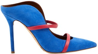 Malone Souliers Maureen Blue Suede Sandals