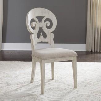 Ophelia & Co. Konen Splat Back Upholstered Dining Chair (Set of 2 & Co.