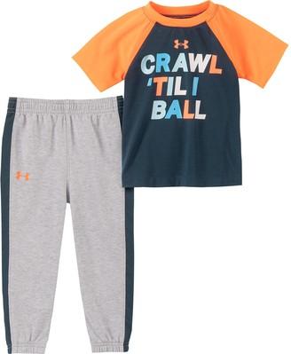 Under Armour Boys' Infant UA Crawl 'Til I Ball Set