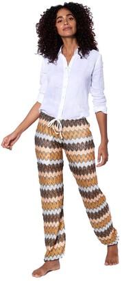 MC2 Saint Barth Multicolor Sand Chevron Knitted Pants