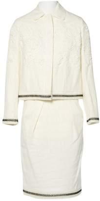 Christian Dior Ecru Linen Jackets