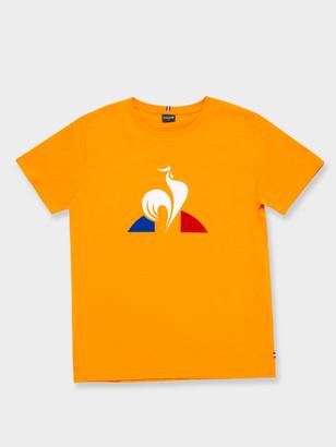 Le Coq Sportif Essentiel Logo T-Shirt in Amber