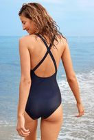 aerie Lace-Up One-Piece Swimsuit