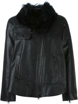 Proenza Schouler faux fur collar jacket