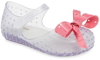 Mini Melissa Furadhina XI Mary Jane Flat (Toddler)