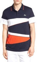 Lacoste Men's Sport Colorblock Pique Polo