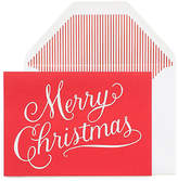 One Kings Lane Set of 6 Merry Christmas Greeting Cards