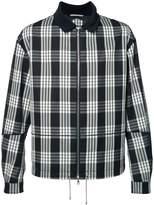 Oamc plaid zipped jacket