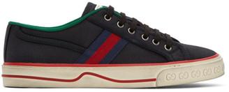 Gucci Black GG Tennis 1977 Sneakers
