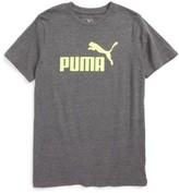 Puma Boy's Logo Graphic T-Shirt