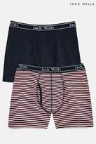 Mens Jack Wills Chetwood Classic Tipped Boxers Set - Pink