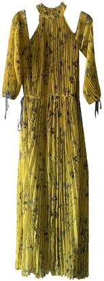 Self-Portrait Yellow Polyester Dresses